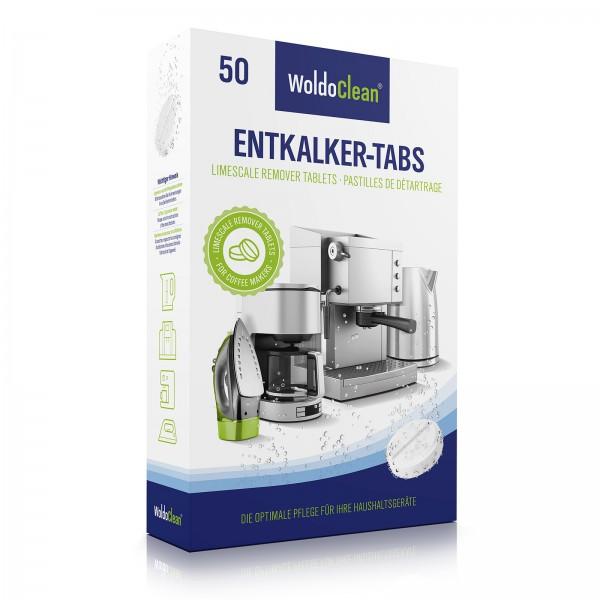 WoldoClean 50x Entkalkungstabletten für Kaffeevollautomaten und ... | {Kaffeevollautomaten 26}